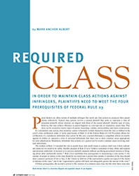 Required Class
